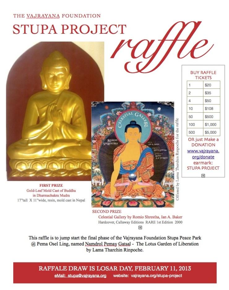 Help Jump Start the Stupa Project!